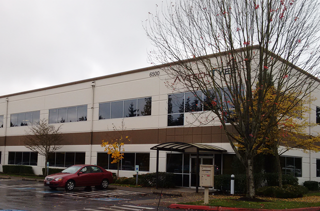 Commercial building in Everett, WA
