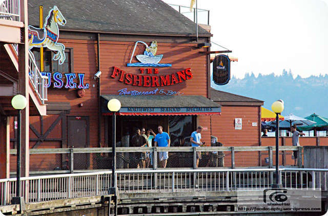 Restaurant on Seattle waterfront
