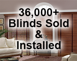 36,000+ Blinds Sold & Installed